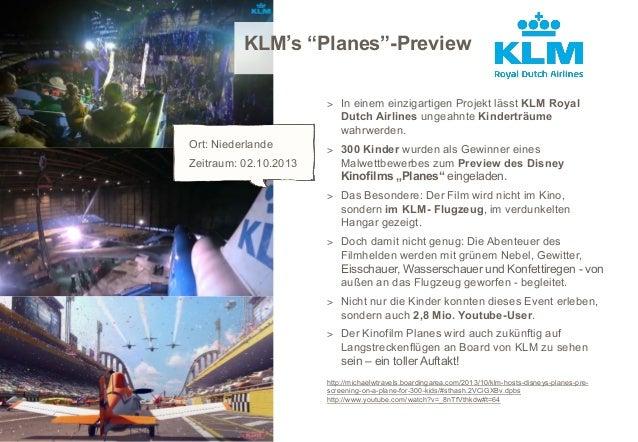 """KLM's """"Planes""""-Preview > In einem einzigartigen Projekt lässt KLM Royal  Dutch Airlines ungeahnte Kinderträume wahrwerden...."""