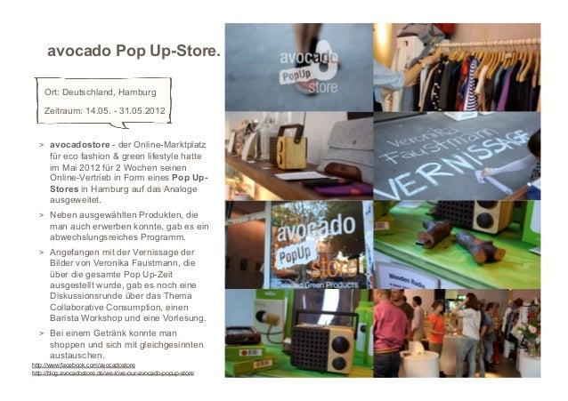 avocado Pop Up-Store.    Ort: Deutschland, Hamburg    Zeitraum: 14.05. - 31.05.2012  > avocadostore - der Online-Marktpla...