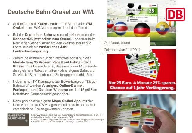 """Deutsche Bahn Orakel zur WM. > Spätestens seit Krake """"Paul"""" - der Mutter aller WM- Orakel - sind WM-Vorhersagen absolut im..."""