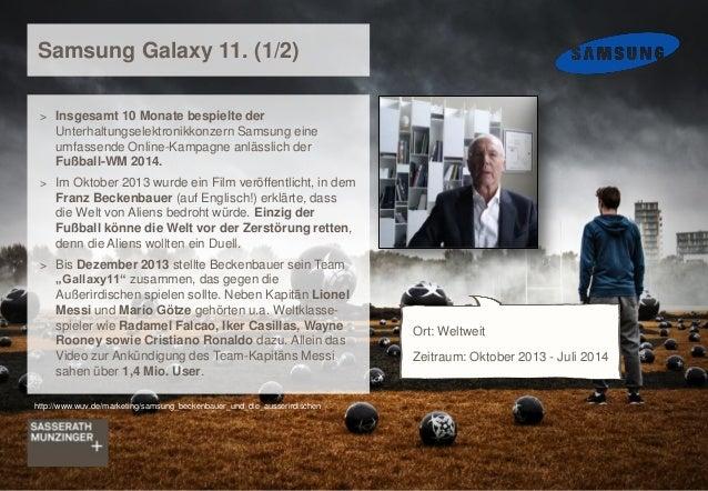 > Insgesamt 10 Monate bespielte der Unterhaltungselektronikkonzern Samsung eine umfassende Online-Kampagne anlässlich der ...