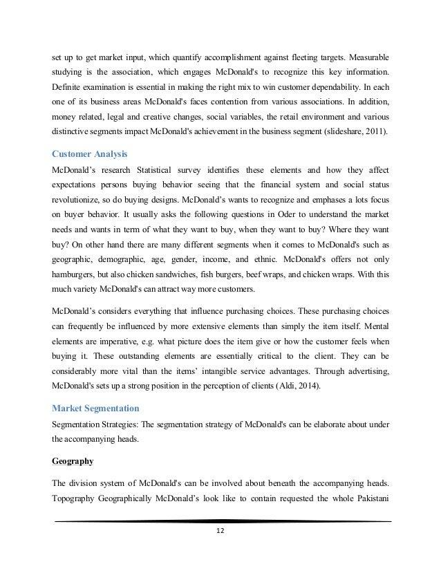 mcdonalds action plan Transcript of marketing plan mcdonald marketing plan of mcdonald's presented by: salma ahmed 474 shumaila kalar 795 fauzia kanwal 930 qurat-ul-ain naeem 938.