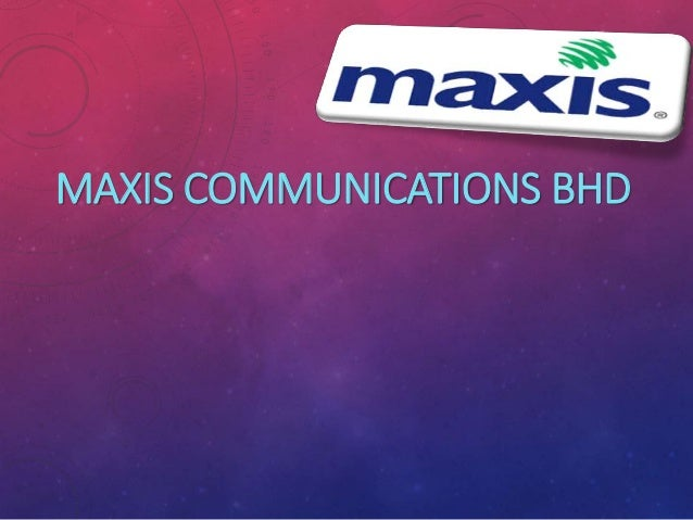 Strategic management in maxis broadband