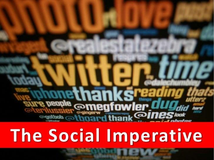 The Social ImperativeThe Social Media MasterClass 2011