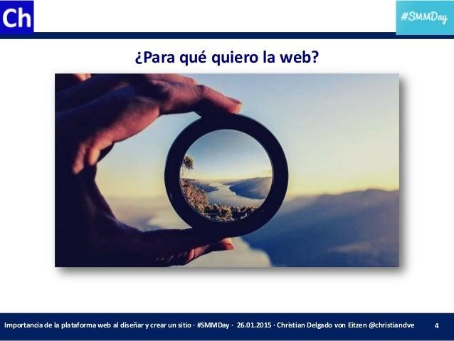 Smmday Importancia De La Elecci N De La Plataforma Web Al