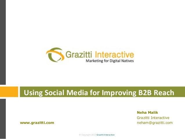© Copyright 2013 Grazitti Interactive© Copyright 2013 Grazitti Interactive Neha Malik Grazitti Interactive neham@grazitti....