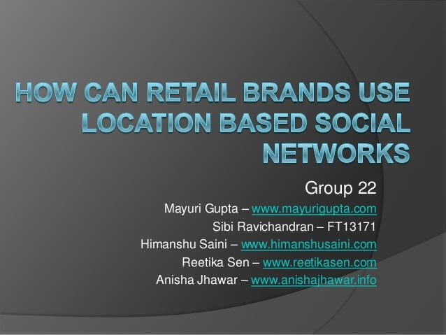 Group 22   Mayuri Gupta – www.mayurigupta.com           Sibi Ravichandran – FT13171Himanshu Saini – www.himanshusaini.com ...