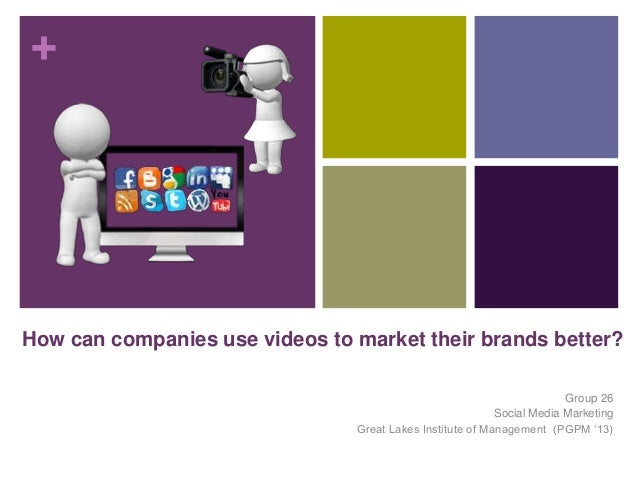 +How can companies use videos to market their brands better?                                                              ...