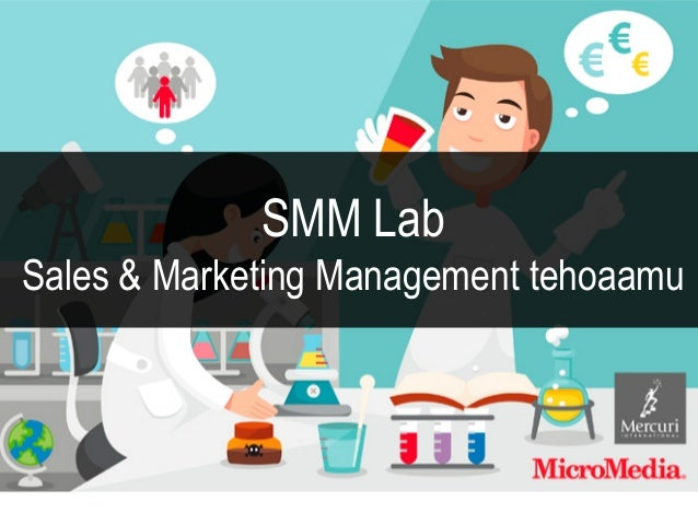 SMM Lab Sales & Marketing Management tehoaamu