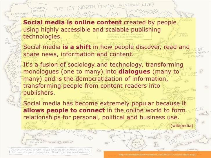 Social Media Marketing Maps Slide 2