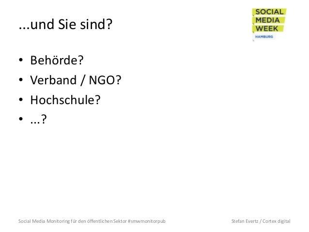 Social Media Monitoring für den öffentlichen Sektor Slide 3