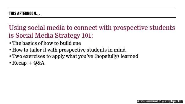 Social Media Strategies Summit: Higher Education 2015 Slide 3