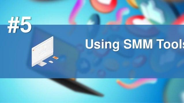 Using SMM Tools #5