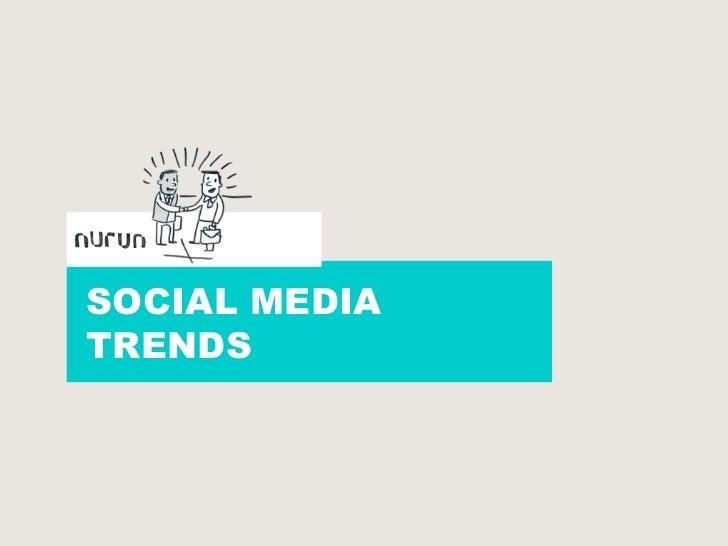 SOCIAL MEDIA<br />TRENDS<br />