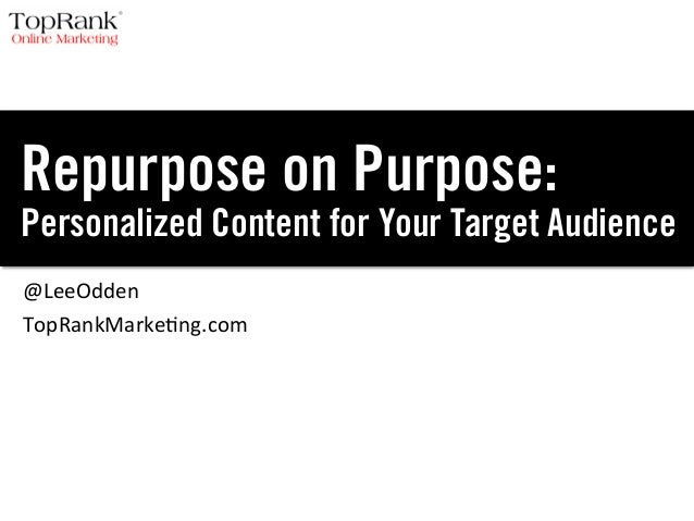 Modular Content: How to Repurpose Content Personalized for Target Audiences