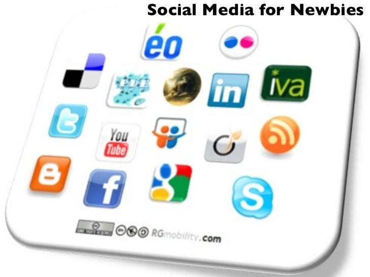 Social Media for Newbies