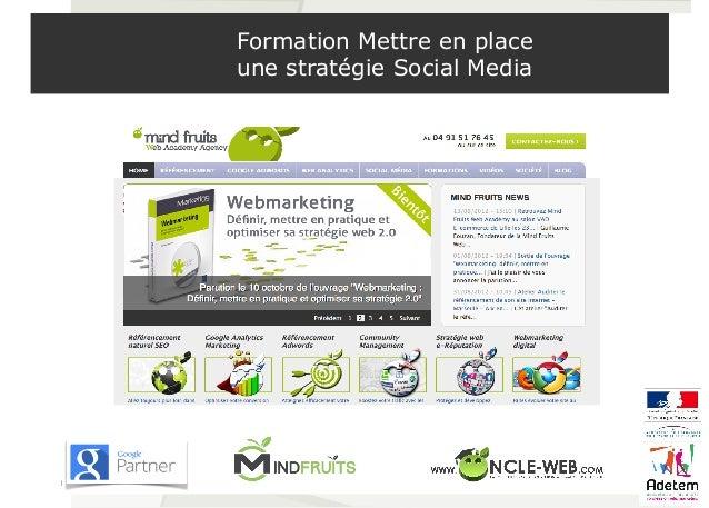 Formation Mettre en place  une stratégie Social Media  1
