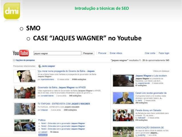 SMO - Como otimizar vídeos no Youtube Slide 3