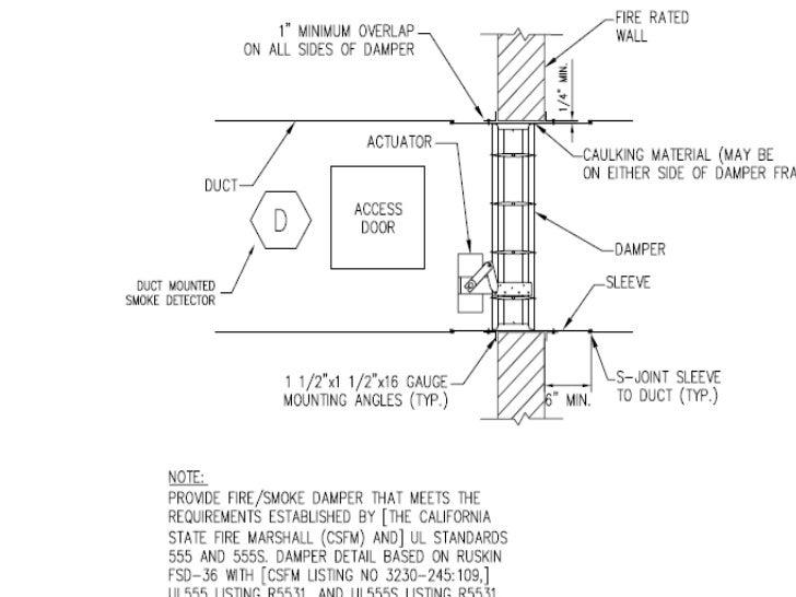 smoke damper presentantion notifier smoke detector at Fsd Fire Alarm Wiring Diagram