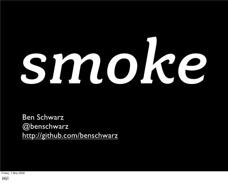 Smoke Slide 2