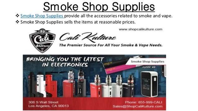 Smoke shop wholesale