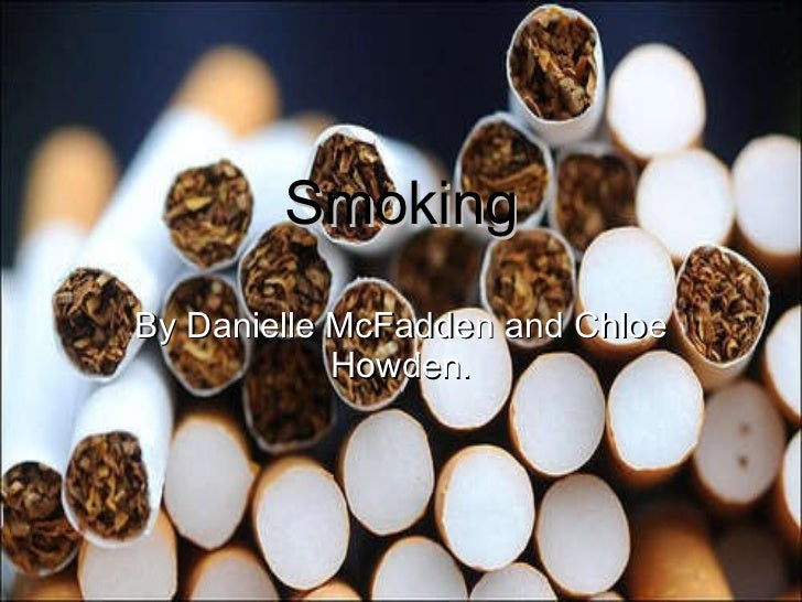 Smoking By Danielle McFadden and Chloe Howden.