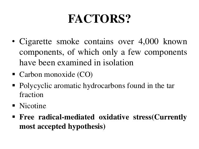 components of cigarette smoke and their effects pdf