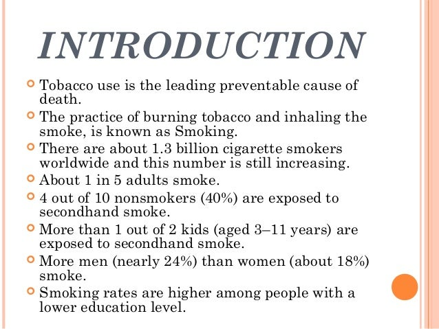 tobacco and its health hazards The main health risks from smoking are lung cancer, heart disease and stroke smoking causes almost 90% of deaths from lung cancer, around 80% of deaths from copd, and around 17% of deaths.