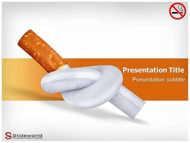 smoking powerpoint templates slideworld