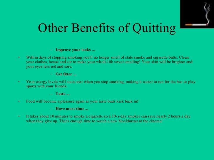 why stop smoking essay