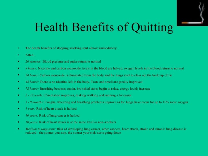 benefits of the non smoker Quitting smoking is the single most important action that smokers can take to   will i have access to the benefit no matter what fehb plan i am enrolled in.