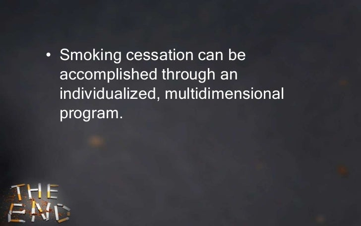 behavior modification smoking cessation essay Thus smoking prevention and cessation efforts that target young adults  to  change smoking behavior without knowing the smoking behavior.