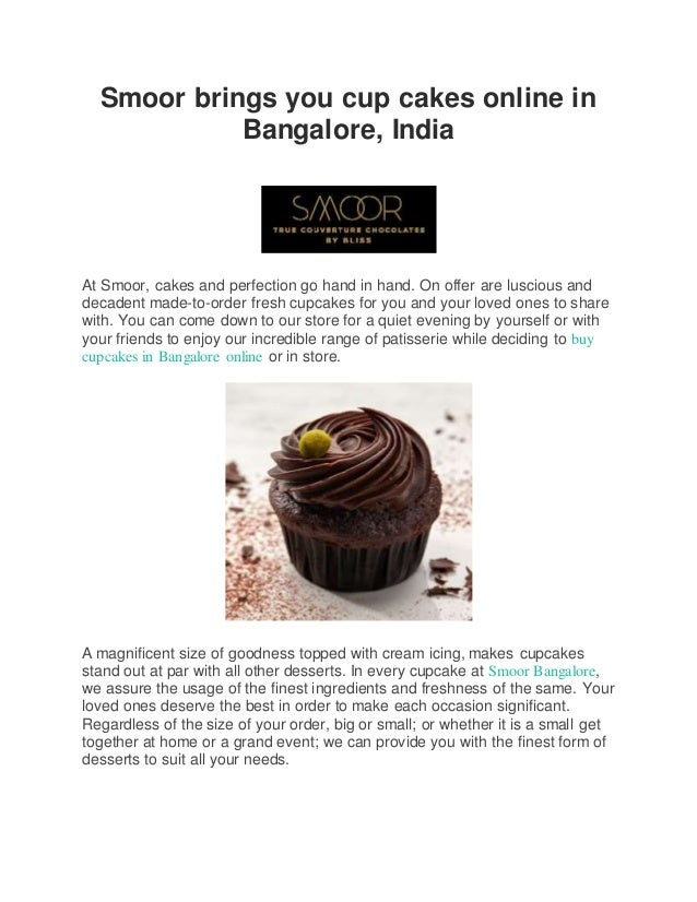 Smoor brings you cup cakes online in bangalore india smoor brings you cup cakes online in bangalore india at smoor cakes and perfection solutioingenieria Choice Image