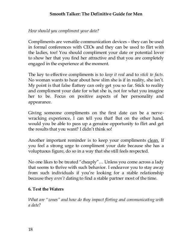 Smooth Talker The Definitive Guide for Men
