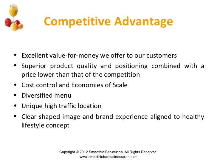 advantages of business plan pdf