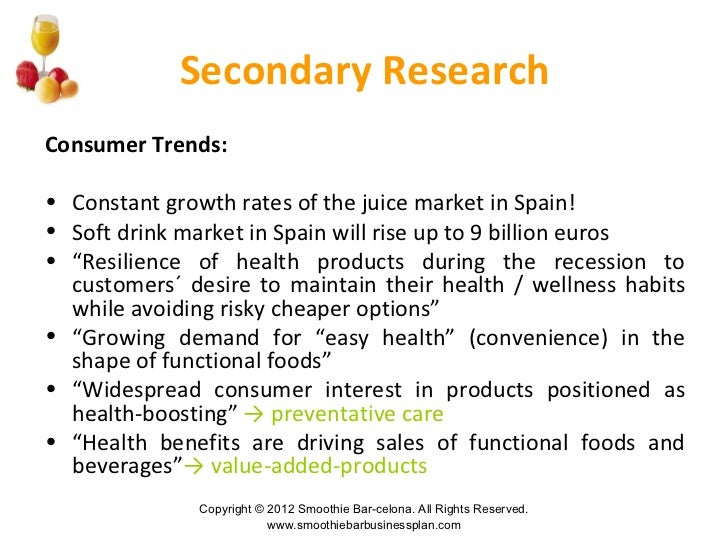 smoothie industry analysis