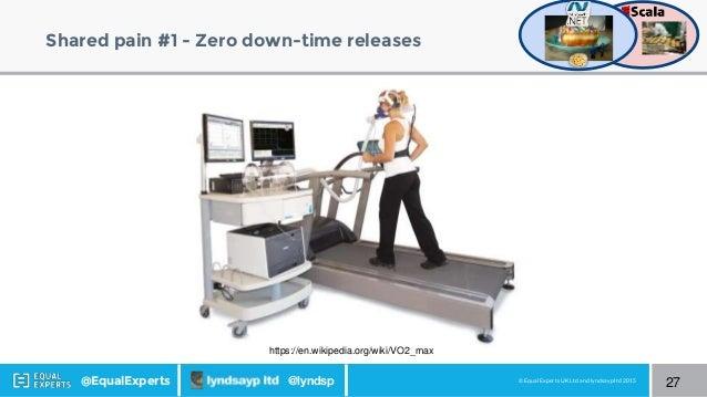 © Equal Experts UK Ltd and lyndsayp ltd 2015@EqualExperts @lyndsp Shared pain #1 - Zero down-time releases 27 https://en.w...