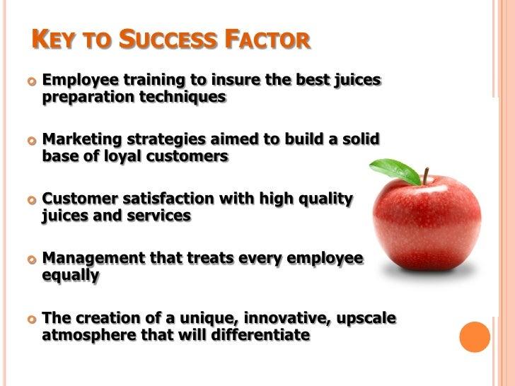 Key successful business plan