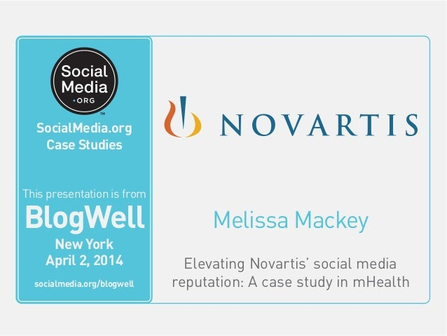 SocialMedia.org Video Case Studies Melissa Mackey Elevating Novartis' social media reputation: A case study in mHealth Thi...