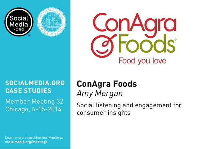 SOCIALMEDIA.ORG CASE STUDIES Member Meeting 32 Chicago, 6-15-2014 Learn more about Member Meetings socialmedia.org/meeting...