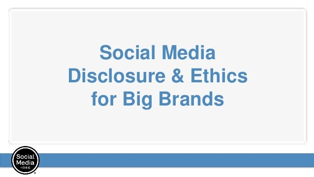 Social media disclosure and ethics for big brands, presented by Andy Sernovitz Slide 2