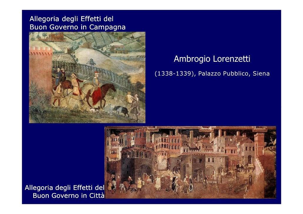 Allegoria degli Effetti del Buon Governo in Campagna                                     Ambrogio Lorenzetti              ...