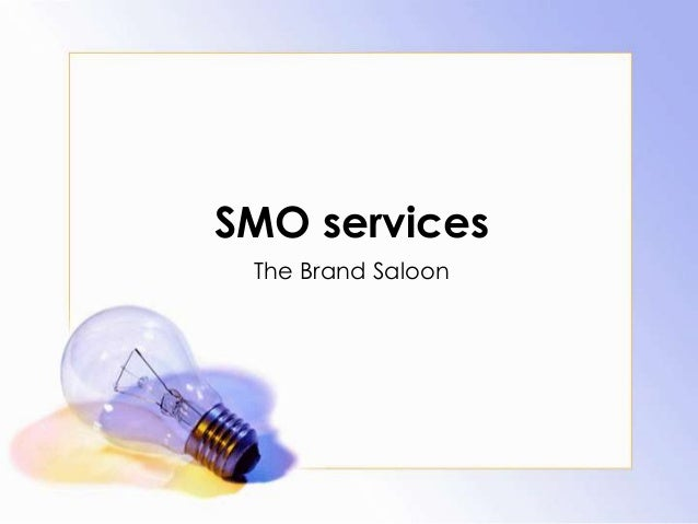 SMO servicesThe Brand Saloon