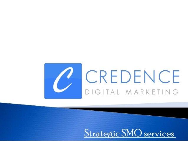 Strategic SMO services