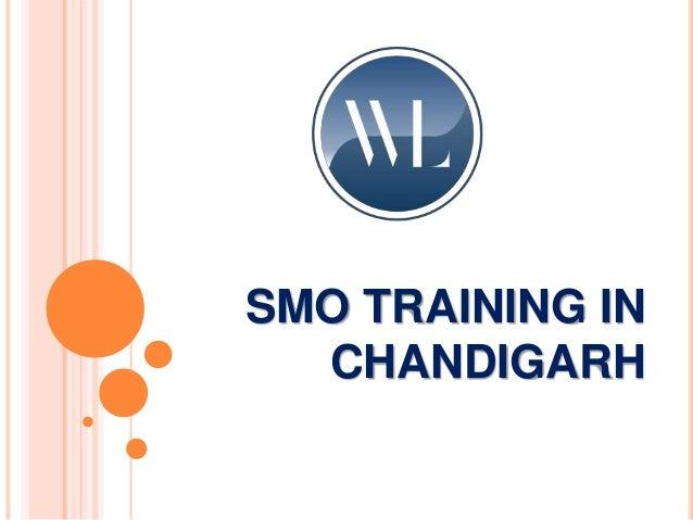 SMO TRAINING IN CHANDIGARH