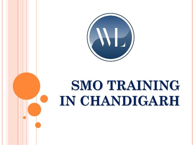 SMO TRAINING IN CHANDIGARH