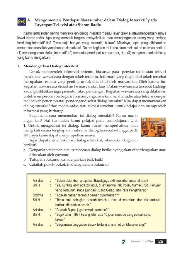 Bahasa Indonesia Smp Kelas 9