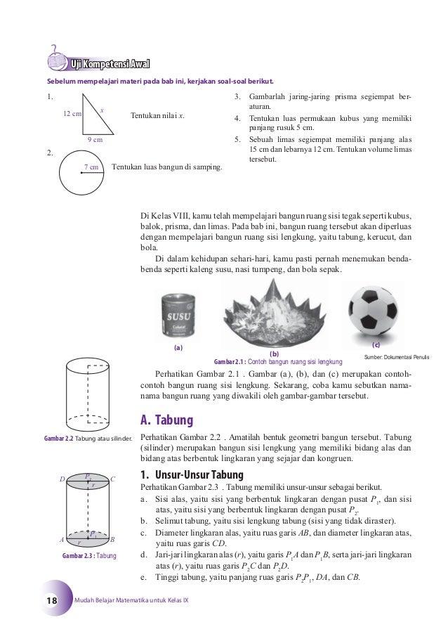 Buku Matematika Kelas 9