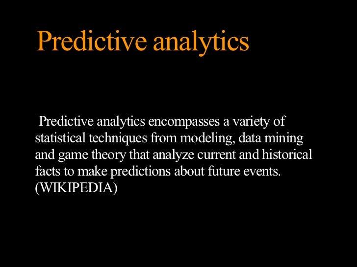 Social media a prediktivní analýza Slide 3