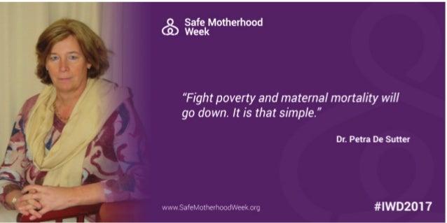Safe Motherhood Program  Slide 3