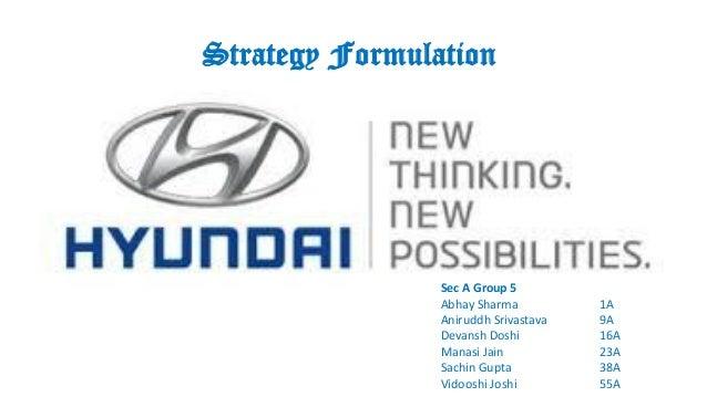 Strategy Formulation Sec A Group 5 Abhay Sharma 1A Aniruddh Srivastava 9A Devansh Doshi 16A Manasi Jain 23A Sachin Gupta 3...